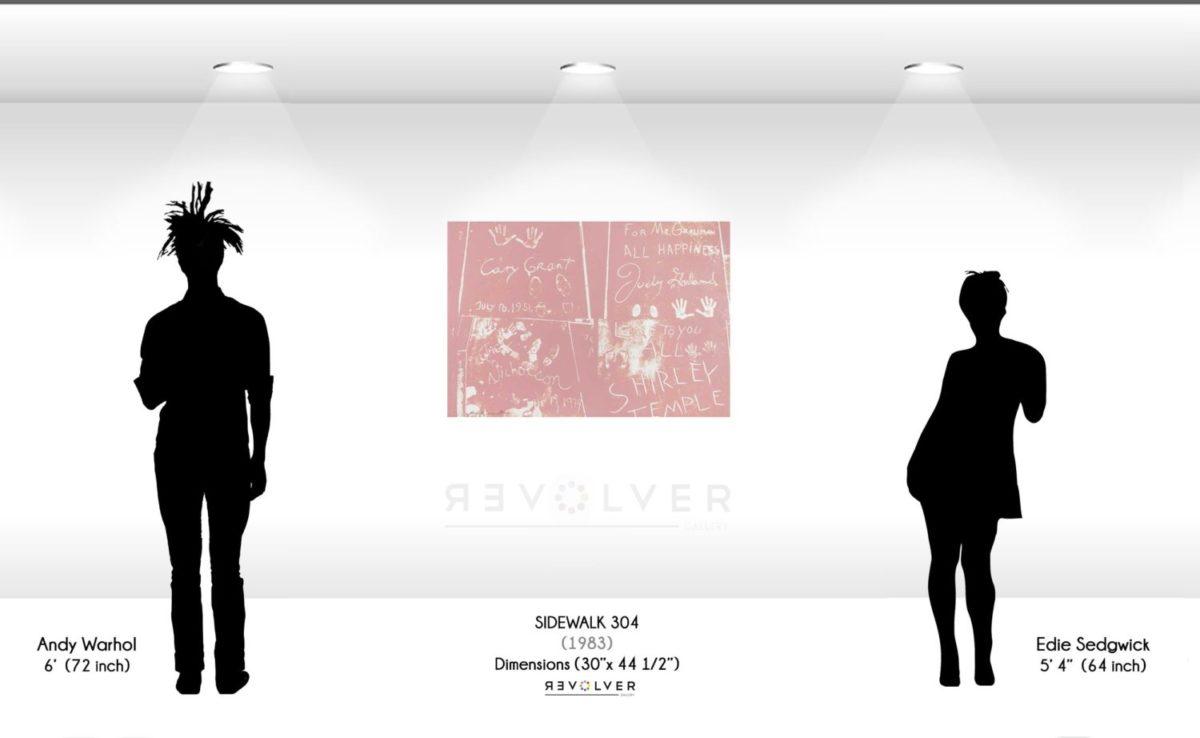 Warhol Sidewalk 304 Wall Display