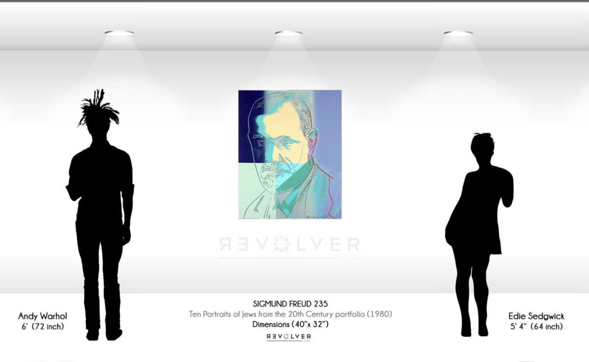 Warhol Sigmund Freud 235 Wall Display