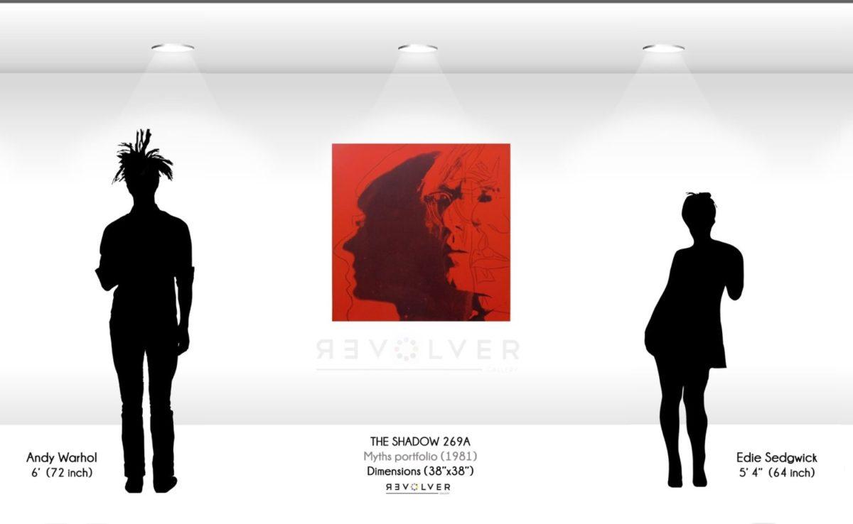 Warhol The Shadow 269A Wall Display