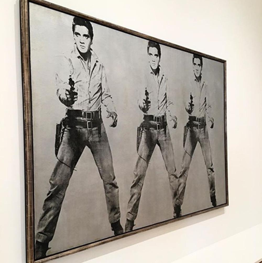 Andy Warhol Triple Elvis