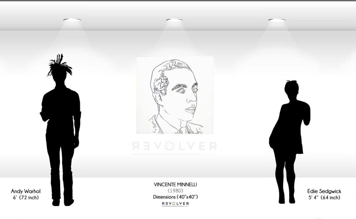 Warhol Vincent Minnelli Wall Display