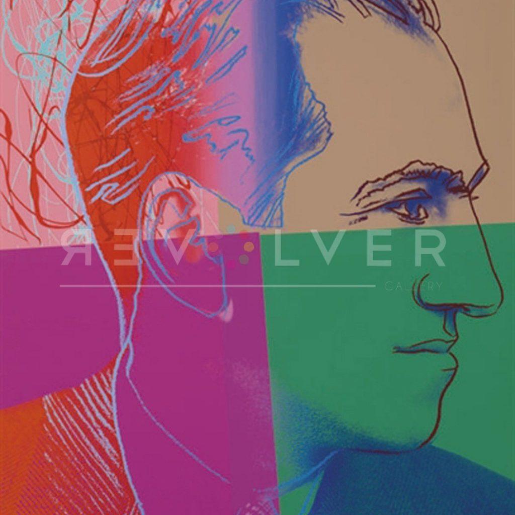 George Gershwin 231 by Andy Warhol