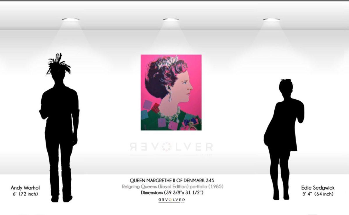 Andy Warhol - QueenMargrethe II 345