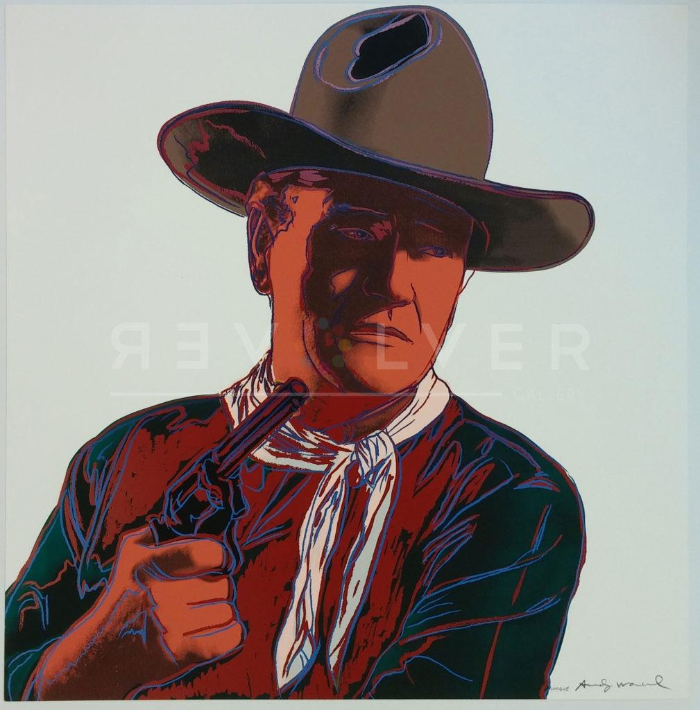 John Wayne 377 by Andy Warhol
