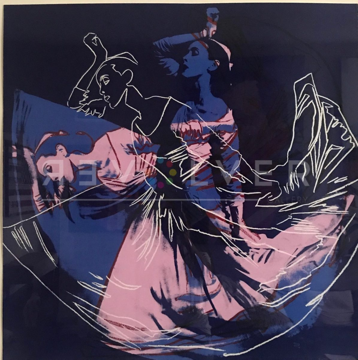 Andy Warhol - Letter to the World (The Kick) F.S. II 389 unique jpg