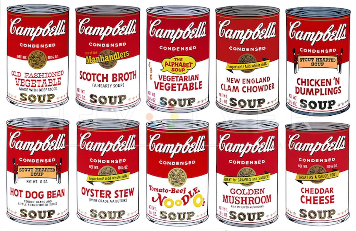 Andy Warhol - Campbell's Soup II Complete Portfolio jpg