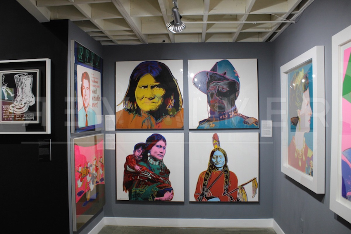 Andy Warhol - Cowboys and Indians F.S. II 386 hanging jpg