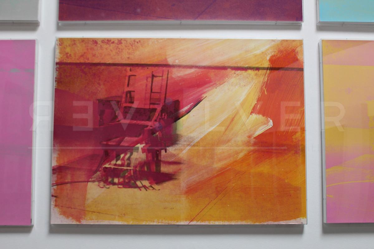 Andy Warhol - Electric Chair F.S. II 81 framed jpg