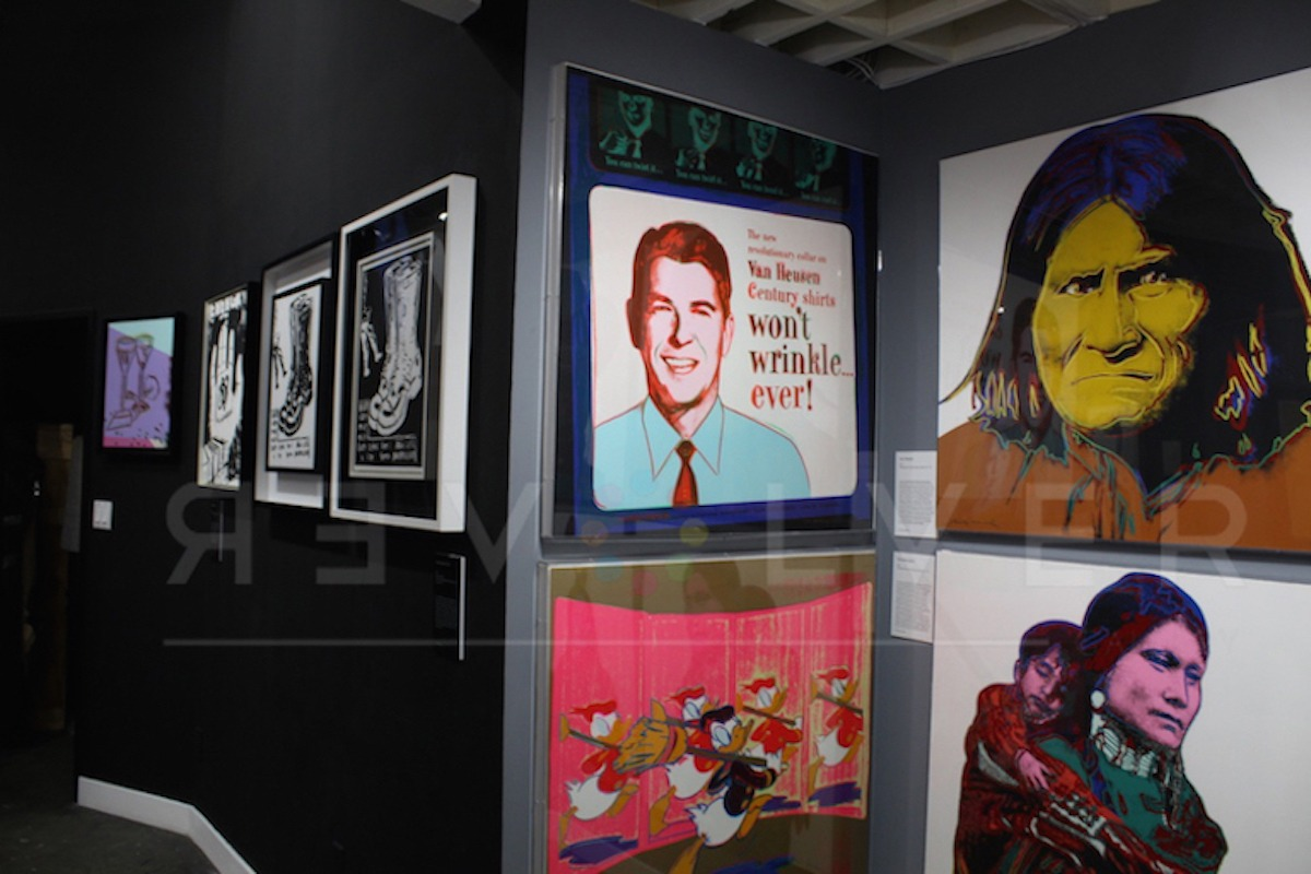 Andy Warhol - Van Heusen F.S. II 356 hanging jpg