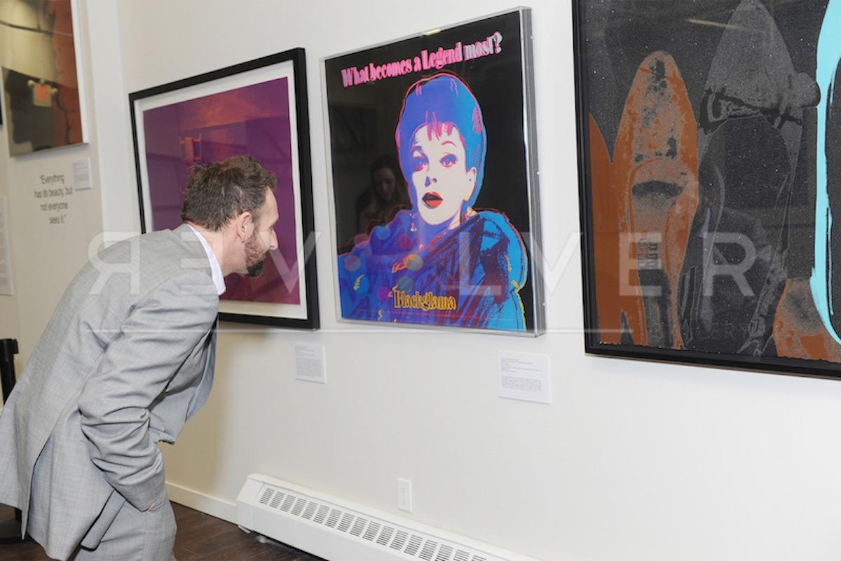 Andy Warhol - Blackglama F.S. II 351 framed jpg
