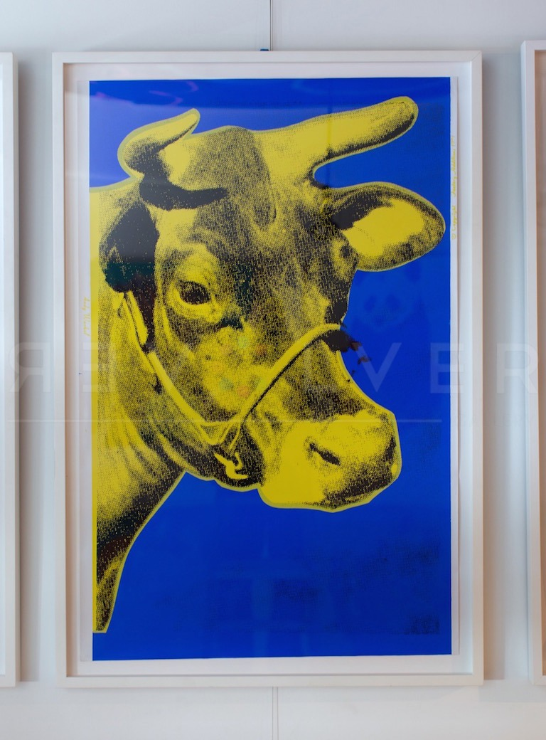 Andy Warhol - Cow F.S. II 12 framed jpg