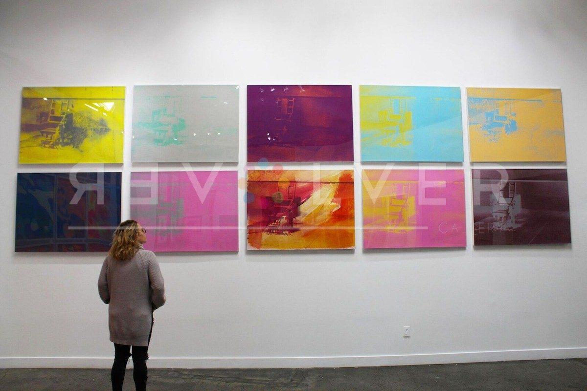 Andy Warhol - Electric Chair F.S. II 76 hanging jpg