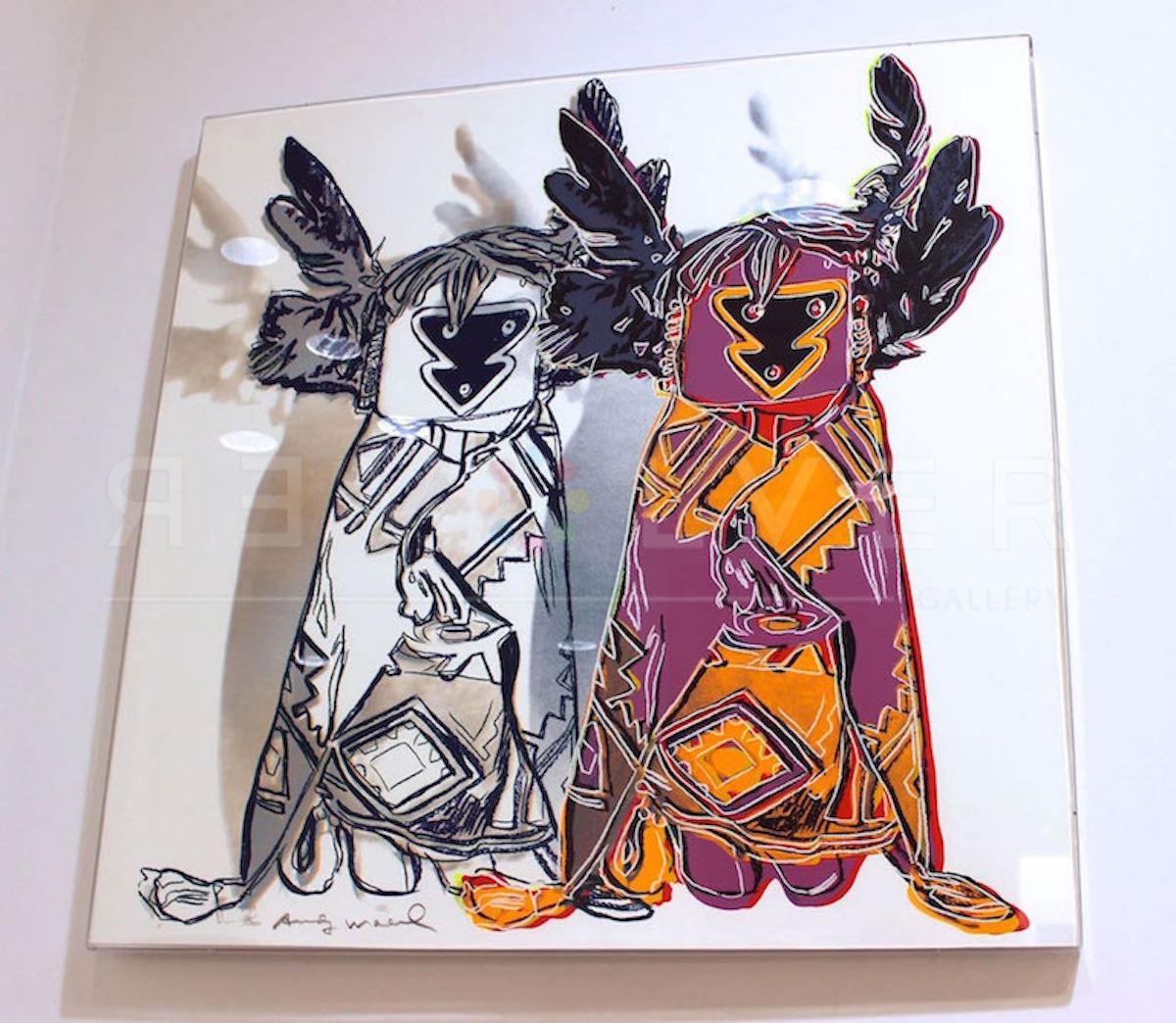 Andy Warhol - Kachina Dolls F.S. II 381 framed jpg