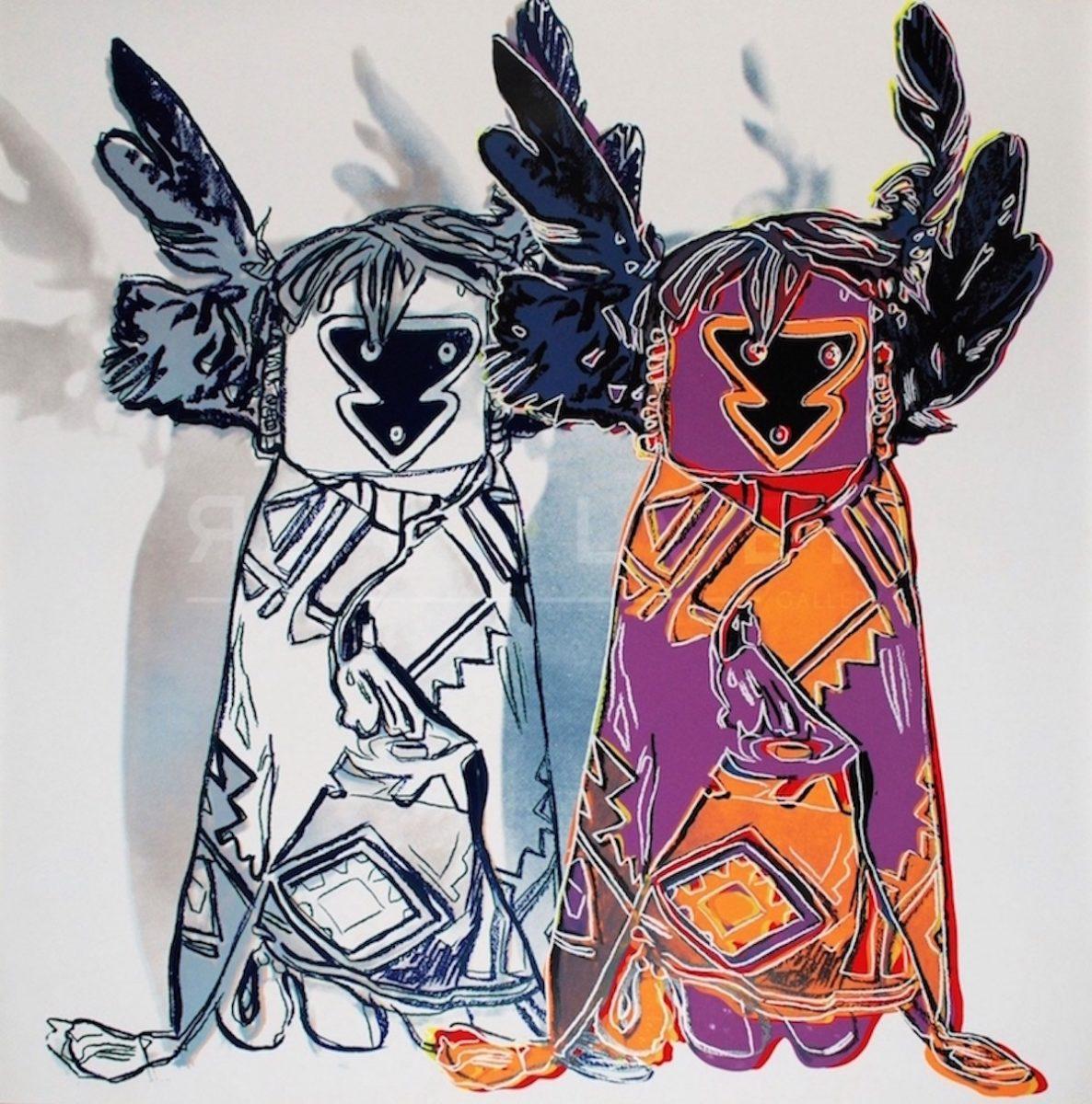 Andy Warhol - Kachina Dolls F.S. II 381 jpg
