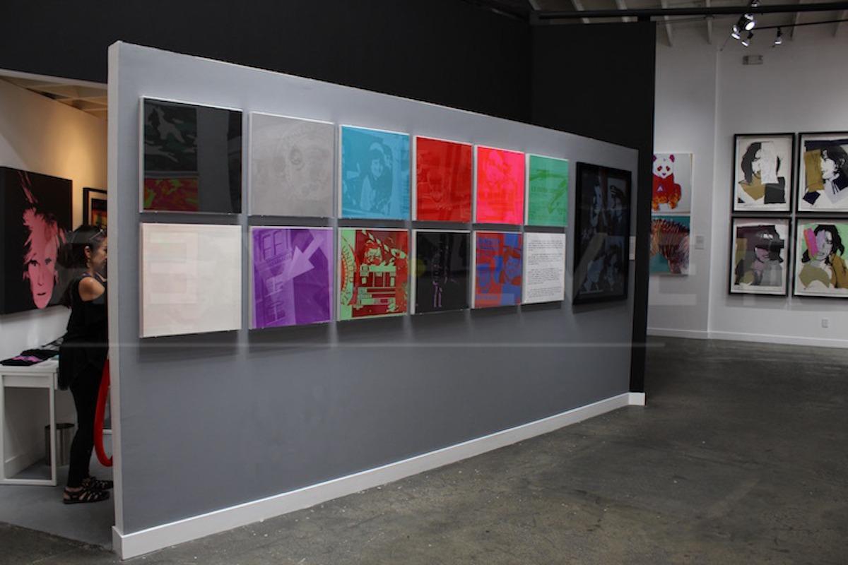 Andy Warhol - Flash F.S. II 32 hanging jpg