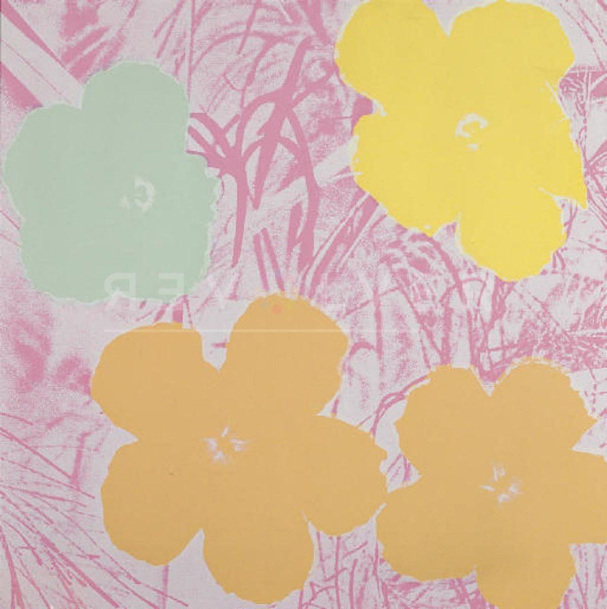 Andy Warhol - Flowers F.S. II 70 jpg