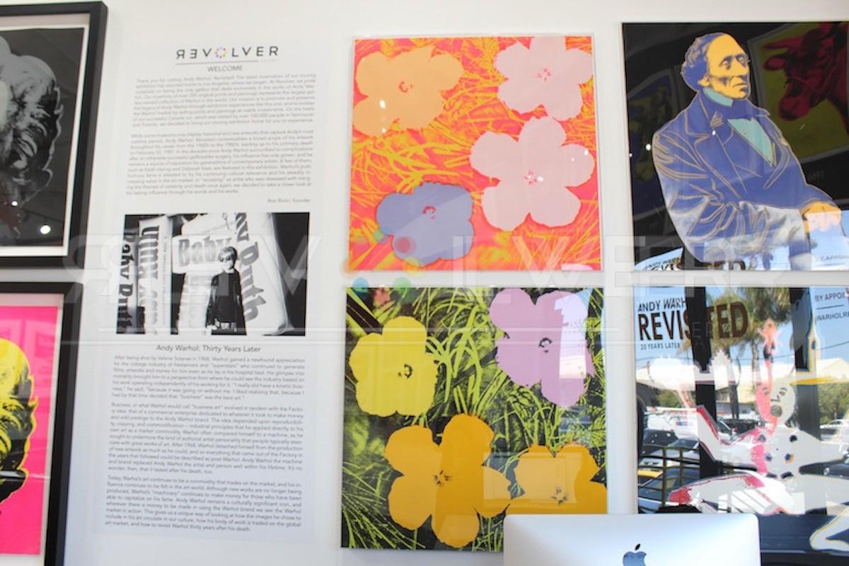 Andy Warhol - Flowers F.S. II 67 jpg