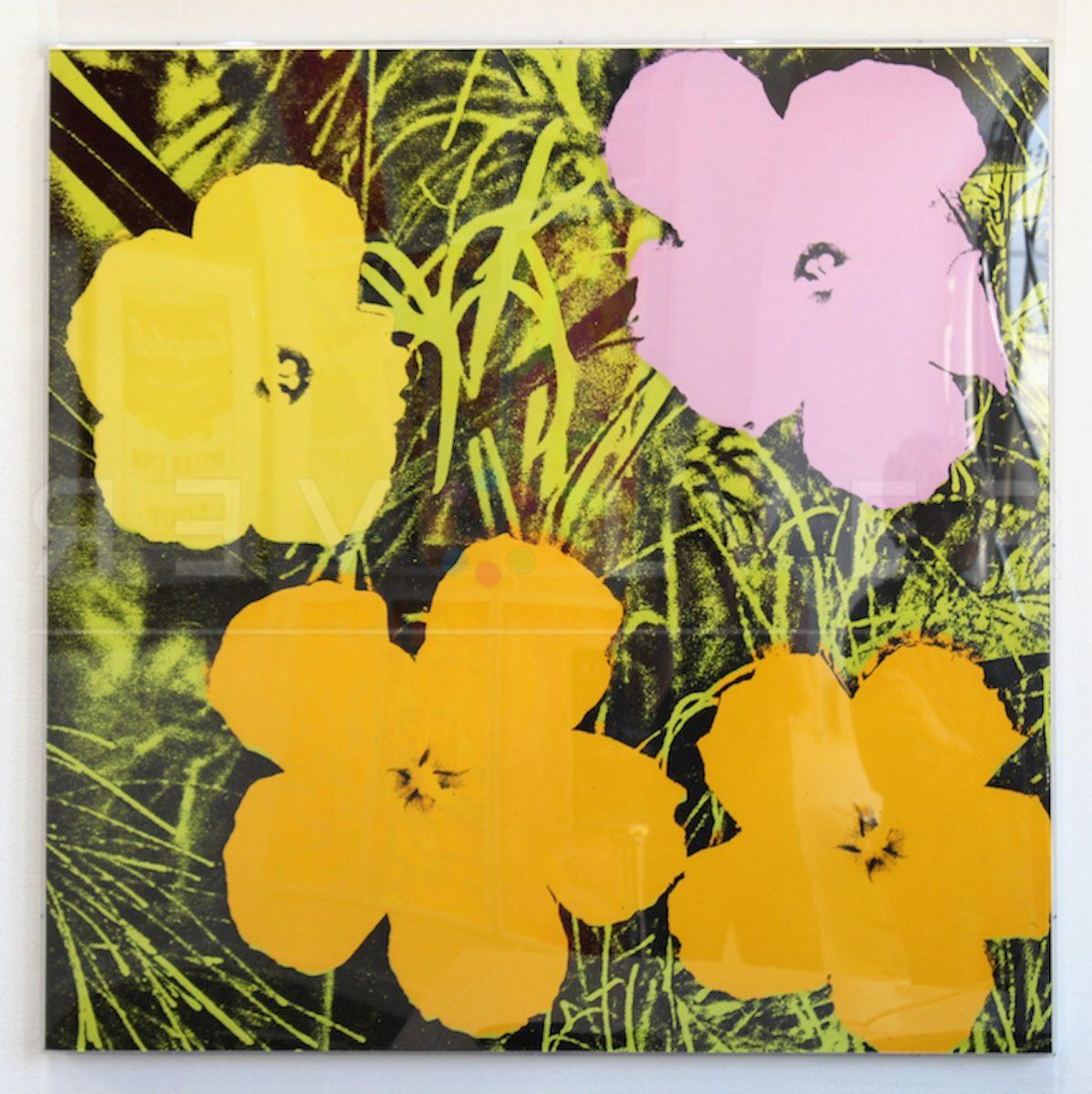 Andy Warhol - Flowers F.S. II 67 frame jpg