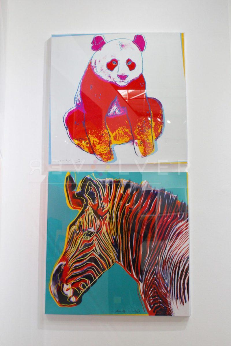 Andy Warhol - Giant Panda F.S. II 295 hanging jpg