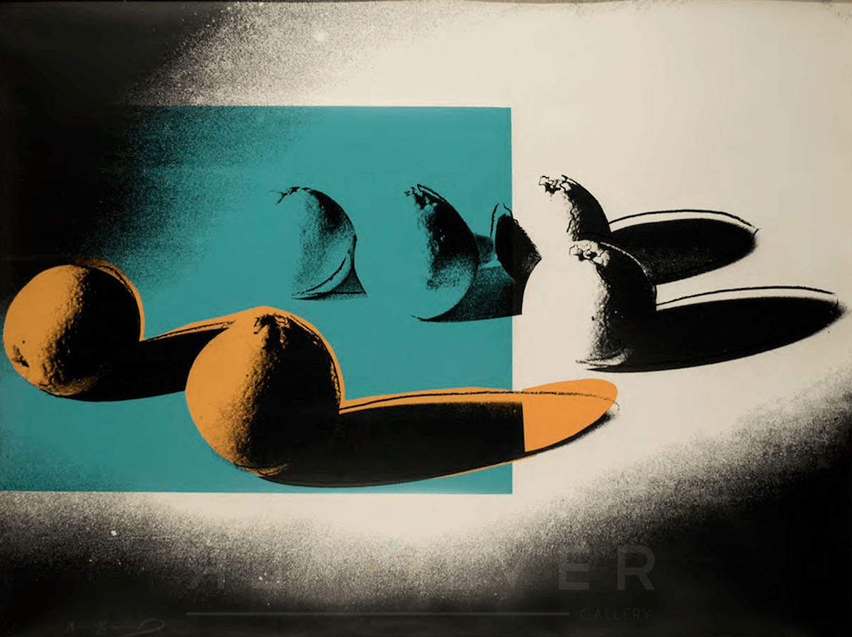 Andy Warhol - Space Fruit: Oranges F.S. II 197