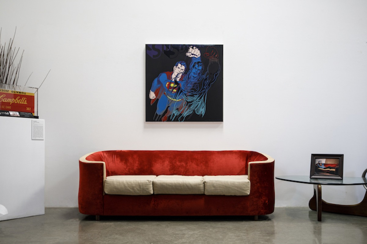 Andy Warhol - Superman F.S. II 260 hanging jpg