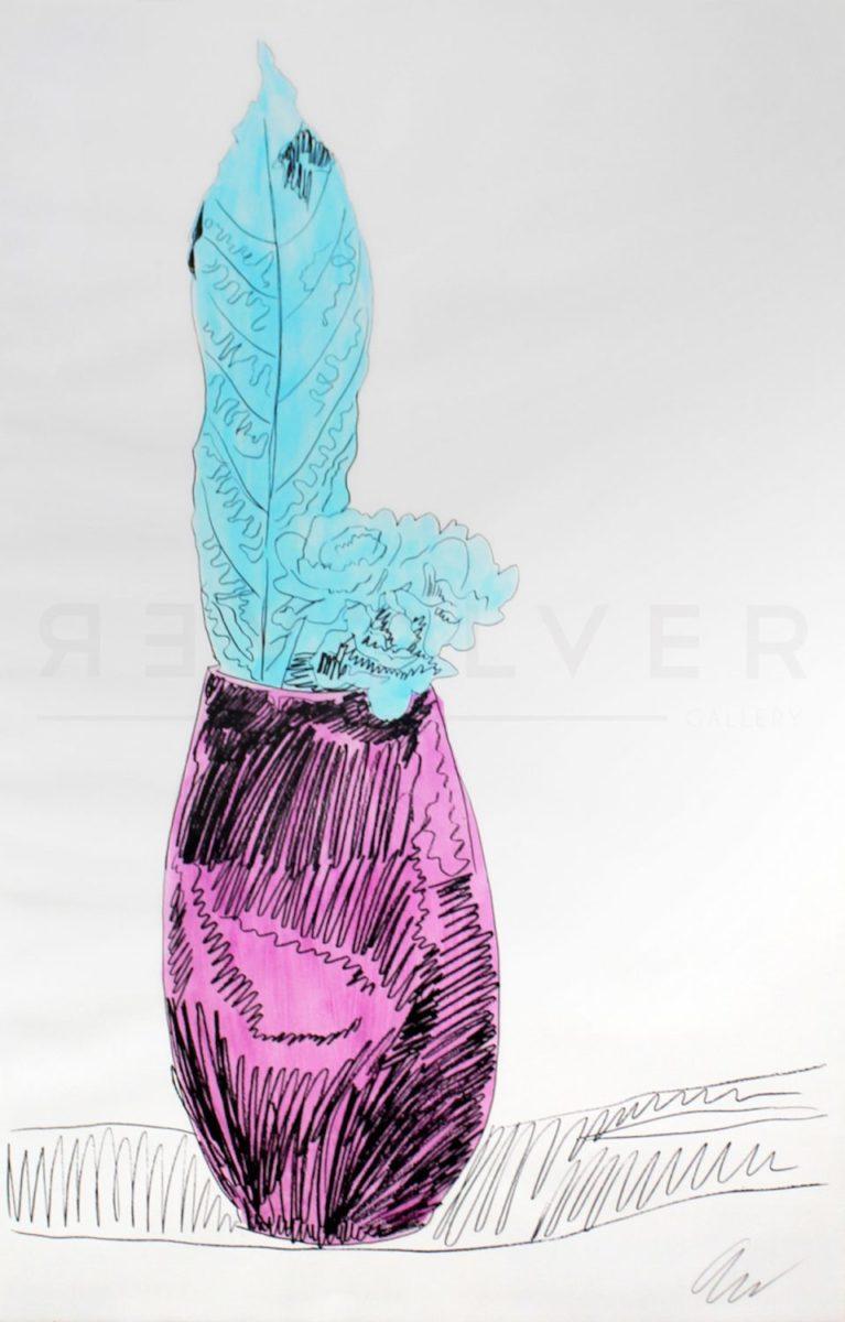 Andy Warhol - Flowers (Hand-Colored) F.S. II 115 jpg