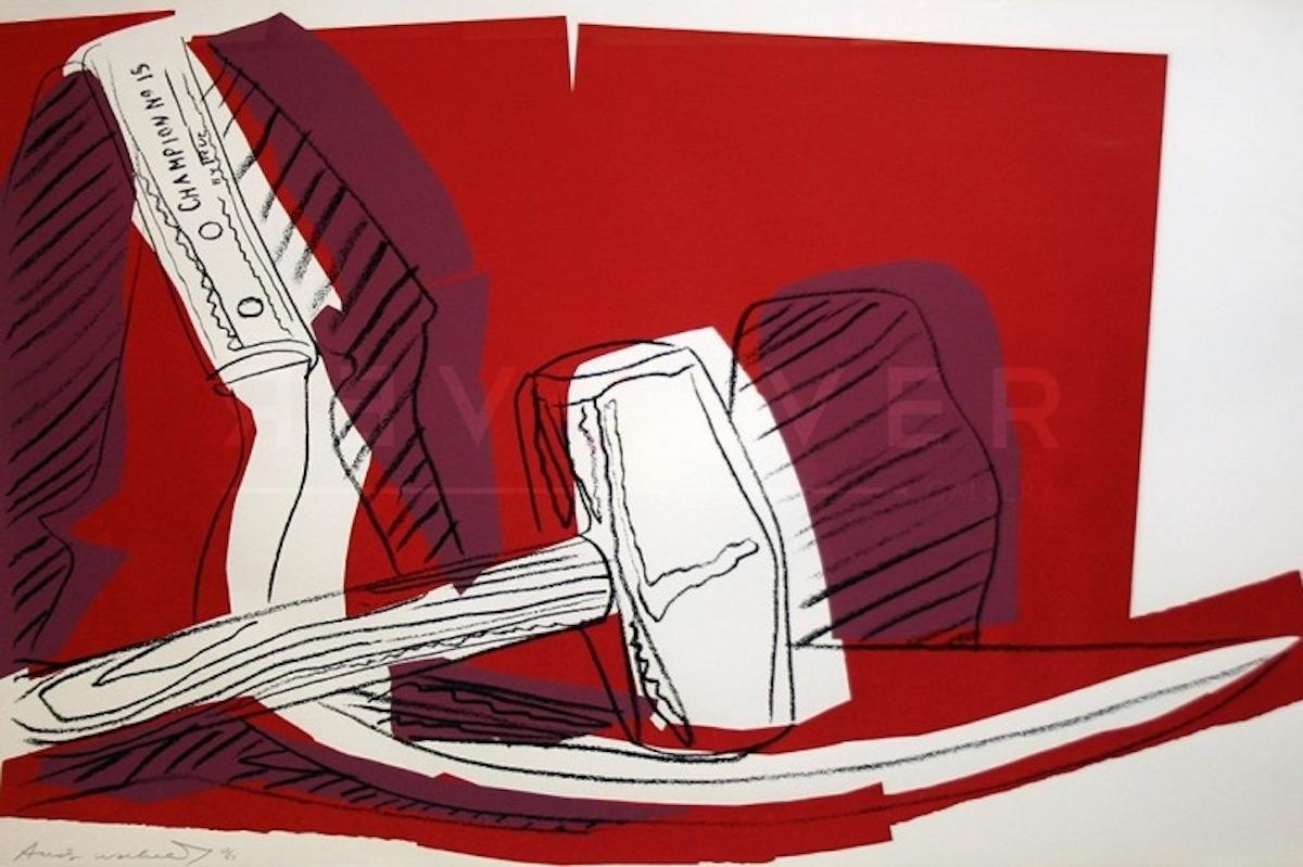 Andy Warhol - Hammer and Sickle F.S. II 162 jpg