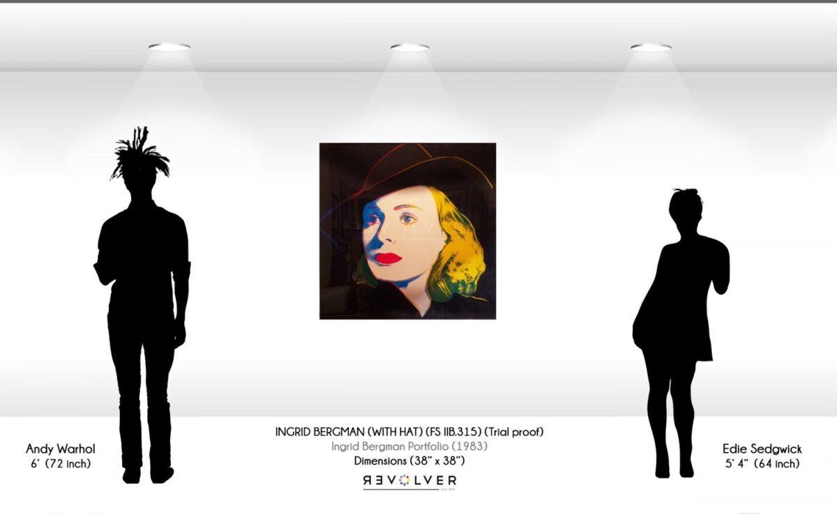 Andy Warhol - Ingrid Bergman with Hat F.S. IIB 315 wd jpg