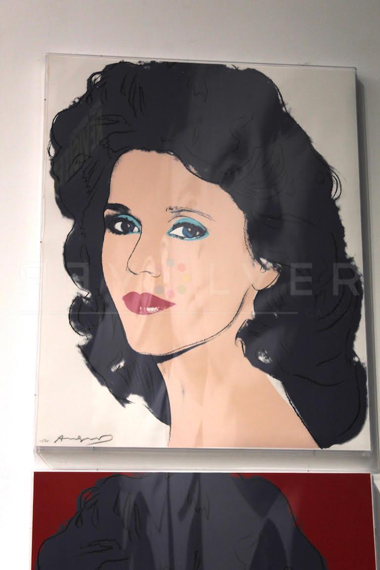 Andy Warhol - Jane Fonda F.S. II 268 TP hanging jpg