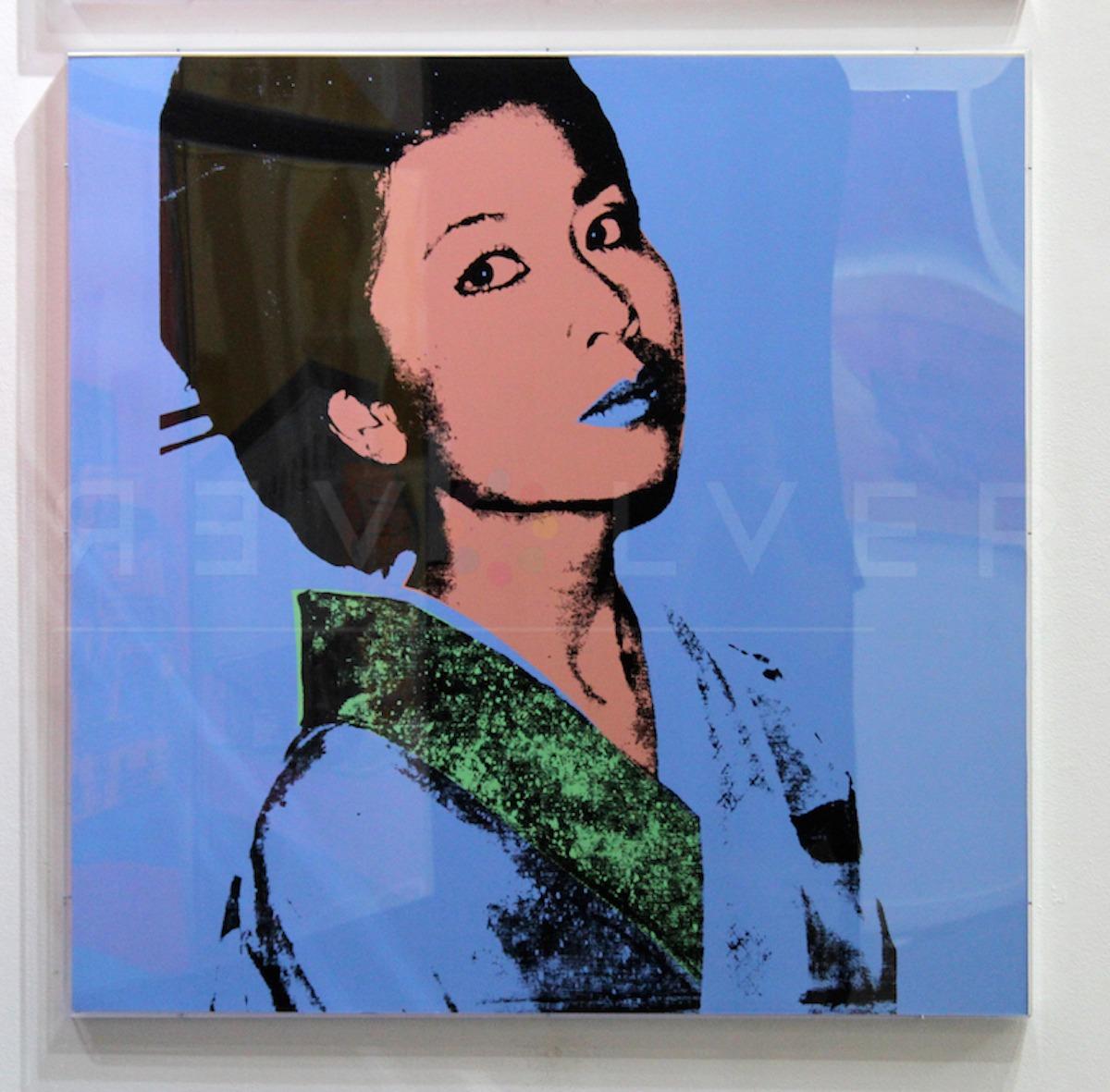 Andy Warhol - Kimiko F.S. II 237 framed jpg