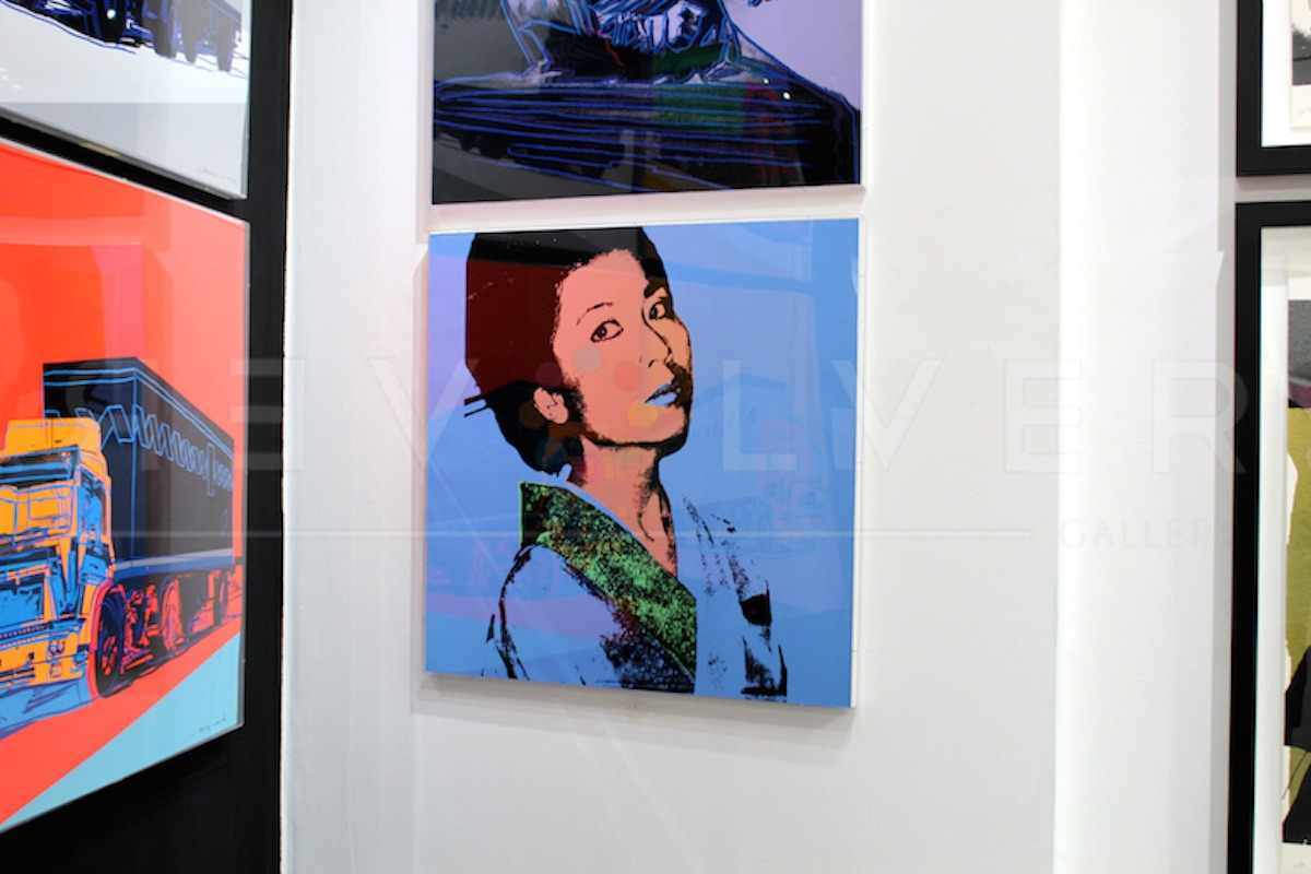Andy Warhol - Kimiko F.S. II 237 hanging jpg