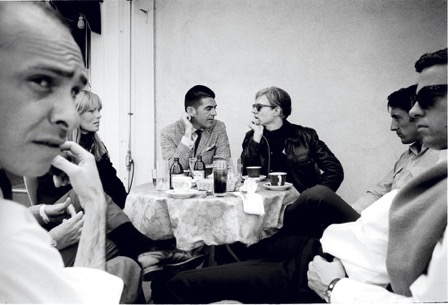 Irving Blum and Andy Warhol