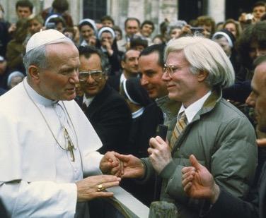 Warhol and Pope
