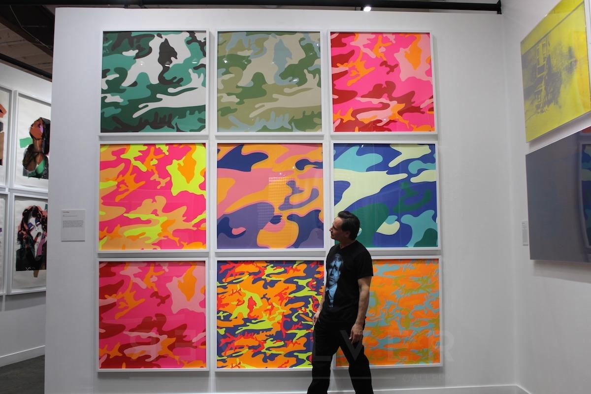 Andy Warhol - Camouflage F.S. II 406 hanging jpg