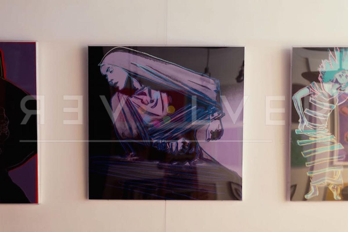 Andy Warhol - Lamentation F.S. II 388 framed jpg
