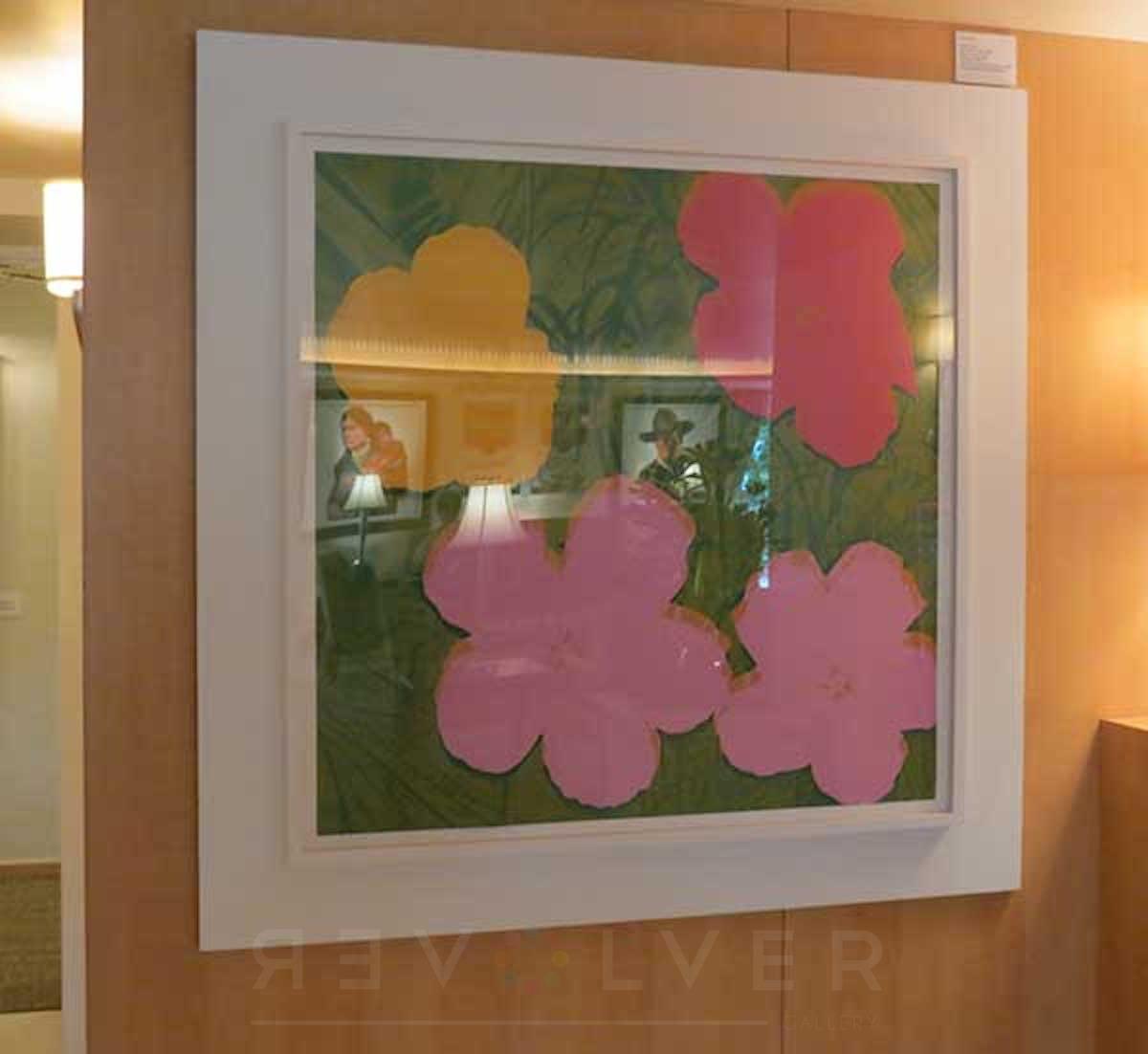 Andy Warhol - Flowers F.S. II 68 framed jpg