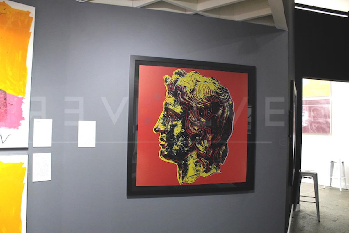 Andy Warhol - Alexander The Great F.S. II 292 framed jpg