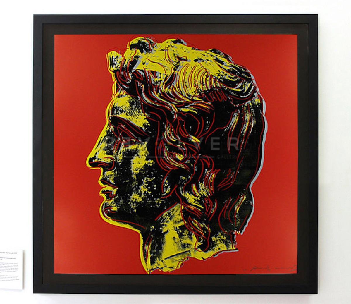 Andy Warhol - Alexander The Great F.S. II 292 inframe jpg