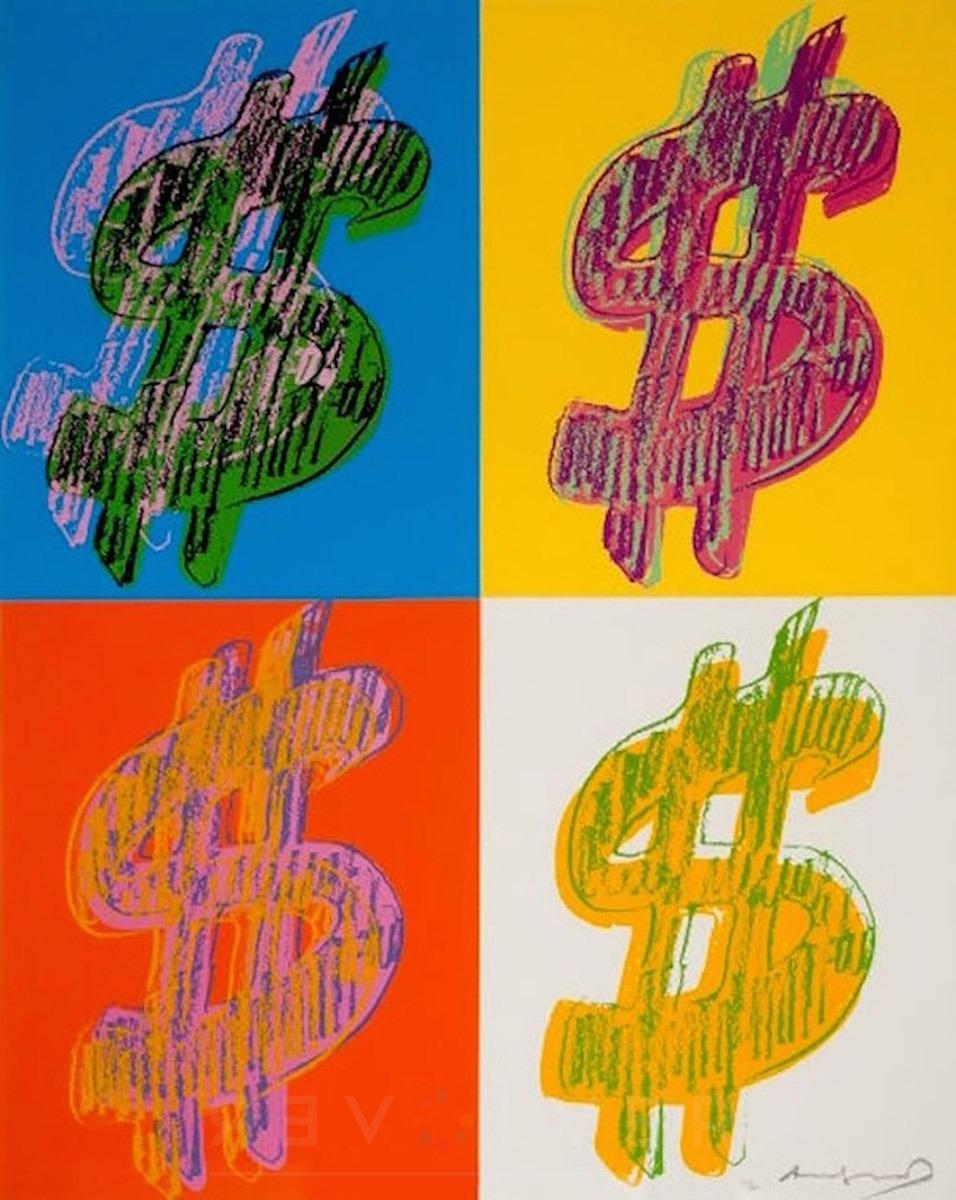 Andy Warhol - Dollar Sign (Quadrant) F.S. II 284 jpg