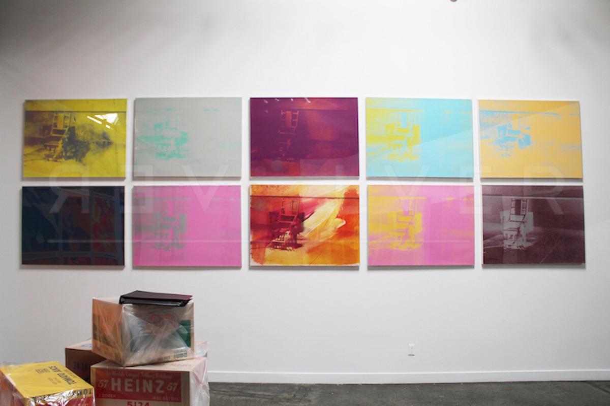 Andy Warhol - Electric Chair F.S. II 77 hanging jpg