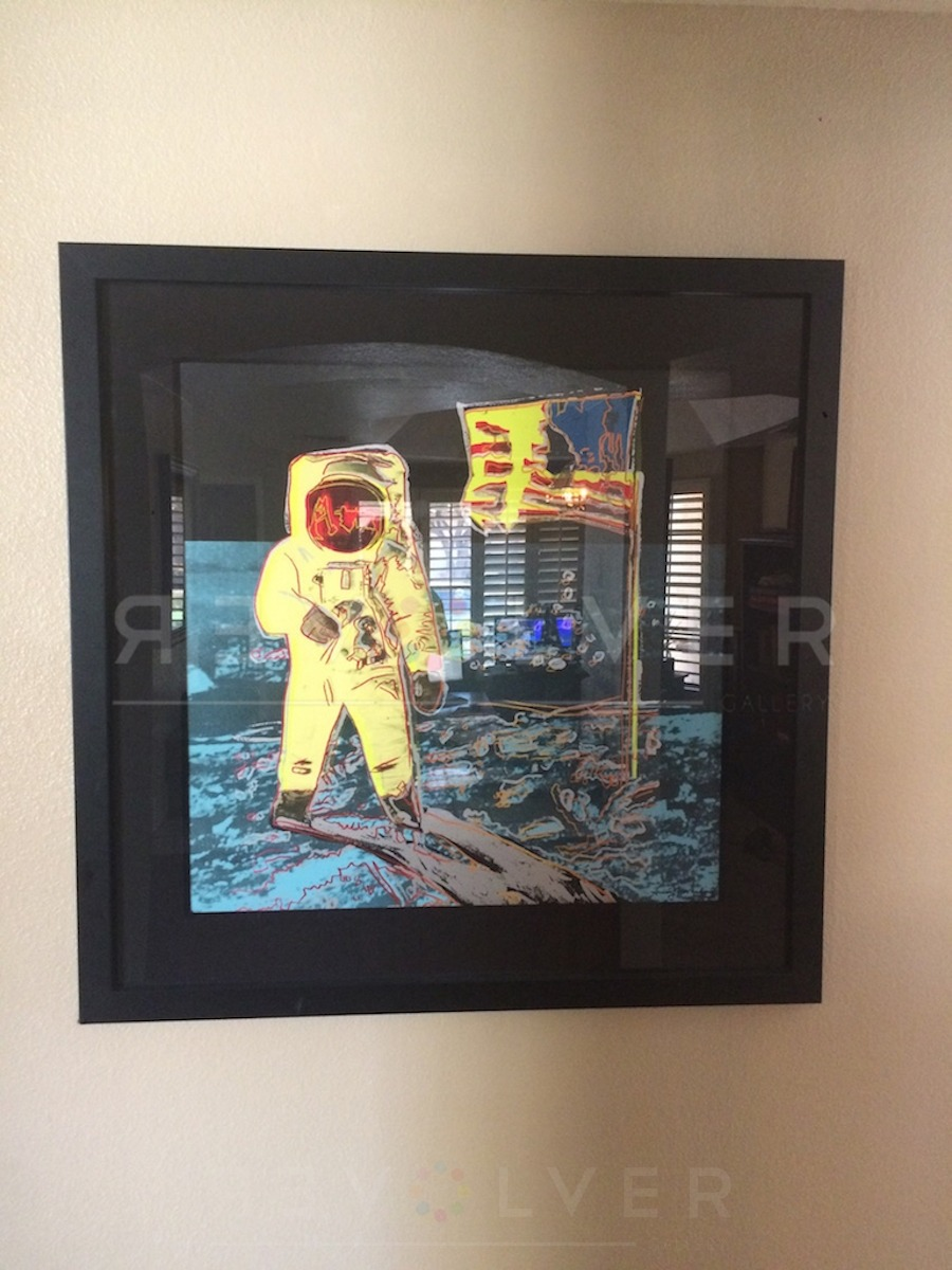 Andy Warhol - Moonwalk 404 framed jpg