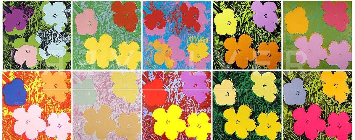 Andy Warhol - Flowers (Full Suite) jpg