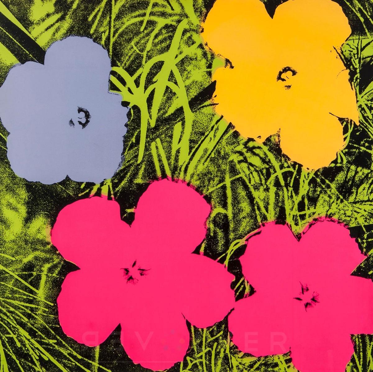 Andy Warhol - Flowers F.S. II 73 jpg