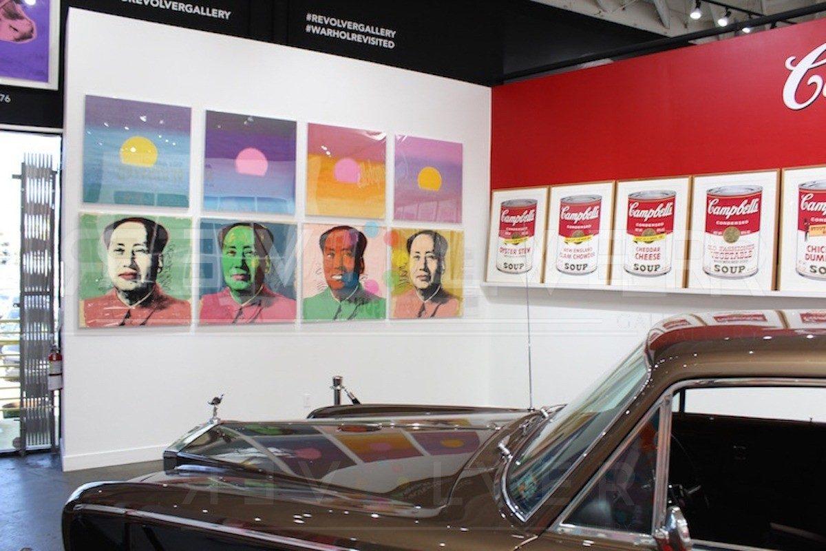 Andy Warhol - Mao F.S. II 97 hanging jpg