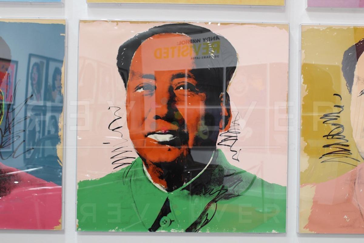 Andy Warhol - Mao F.S. II 94 framed jpg
