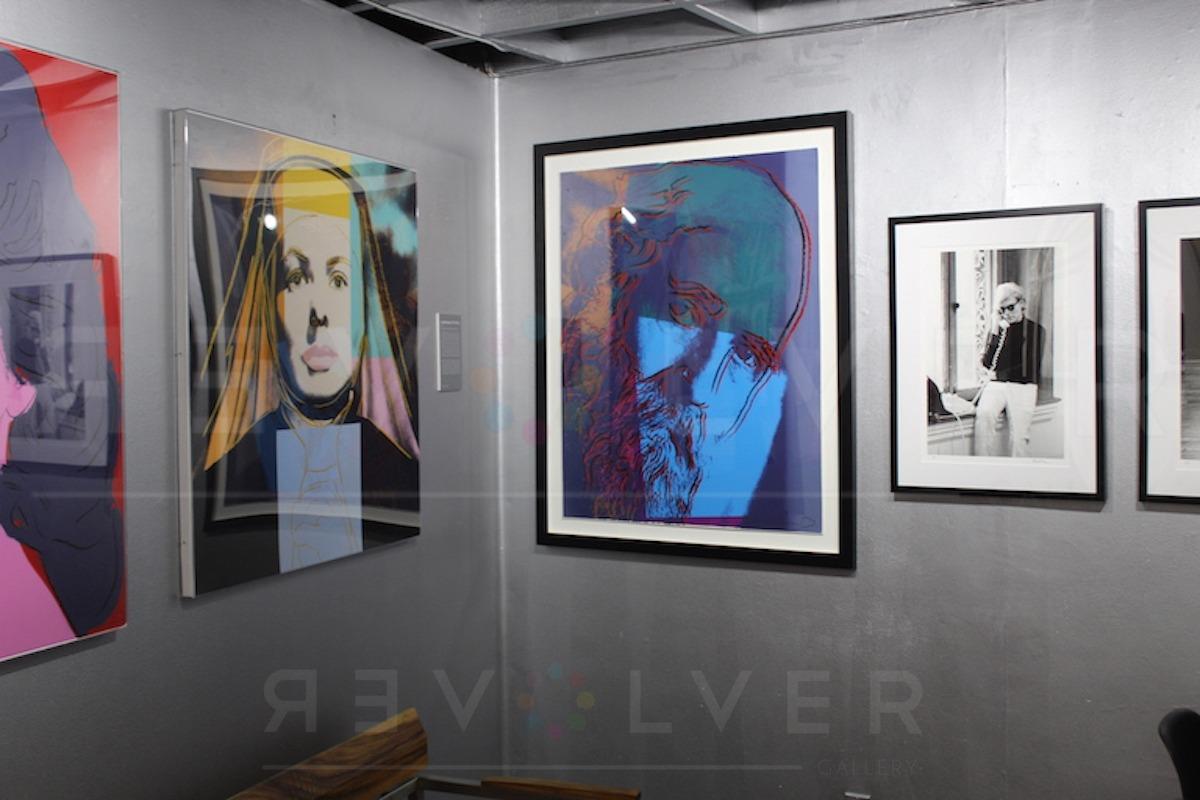 Andy Warhol - Martin Buber F.S. II 228 TP Hanging jpg