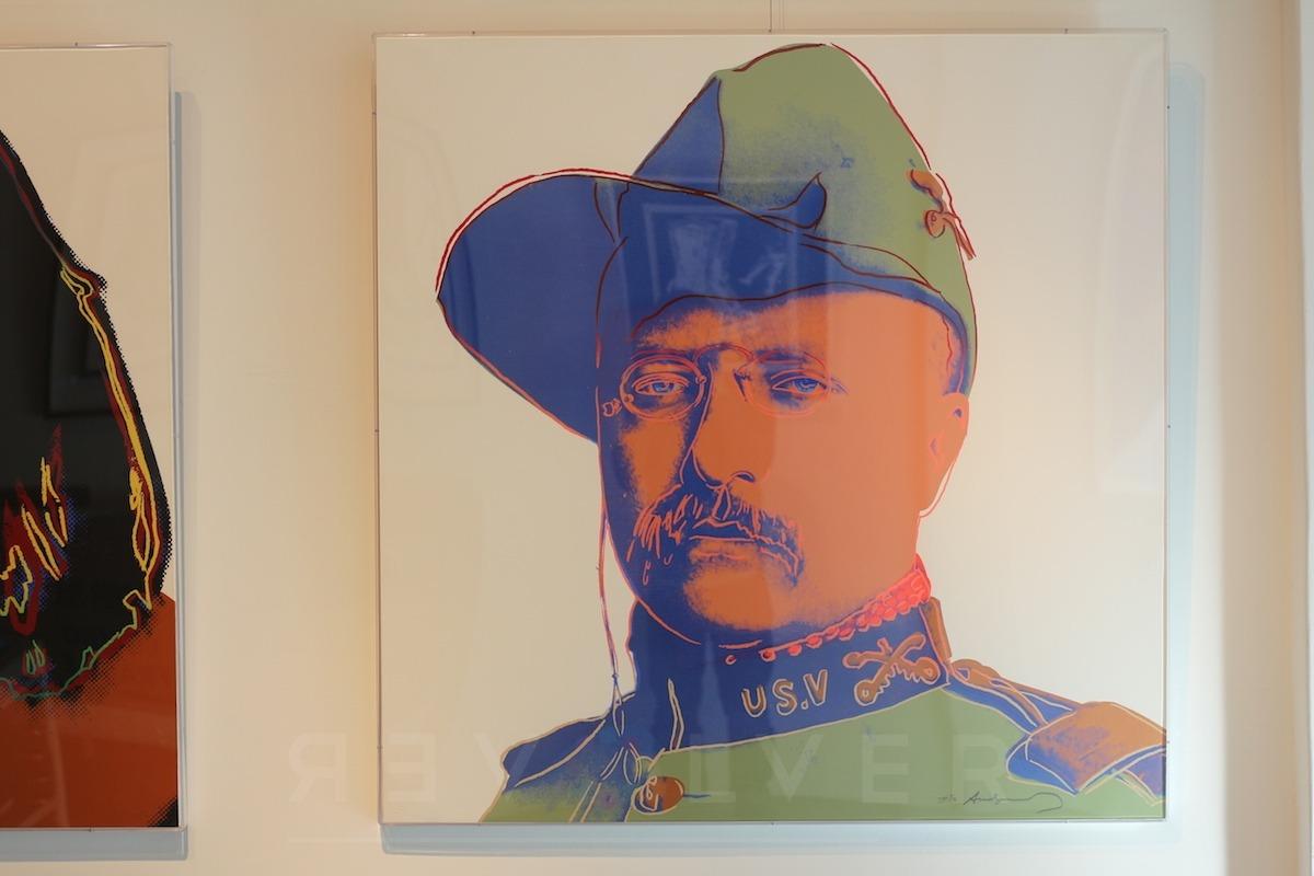 Andy Warhol - Teddy Roosevelt F.S. II 386 TP hanging jpg