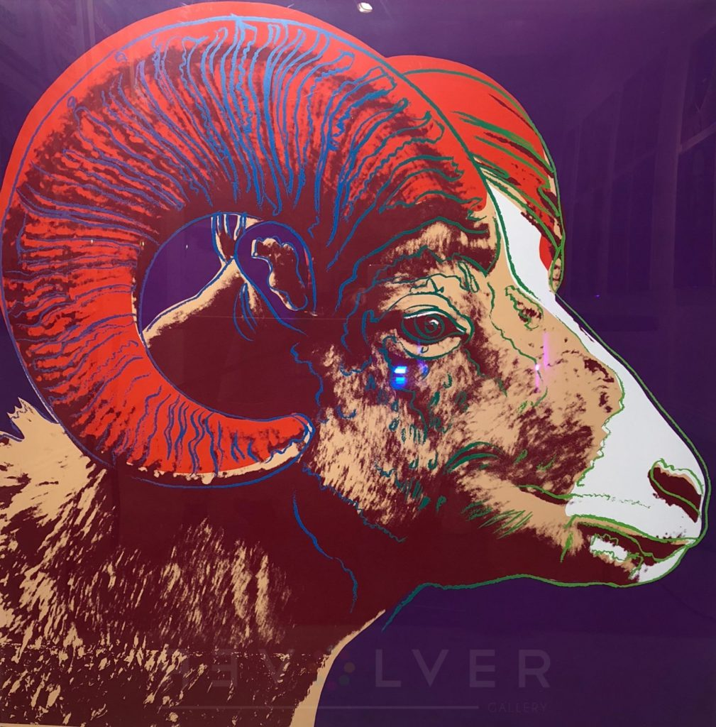 Andy Warhol - Bighorn Ram F.S. II 302 TP jpg