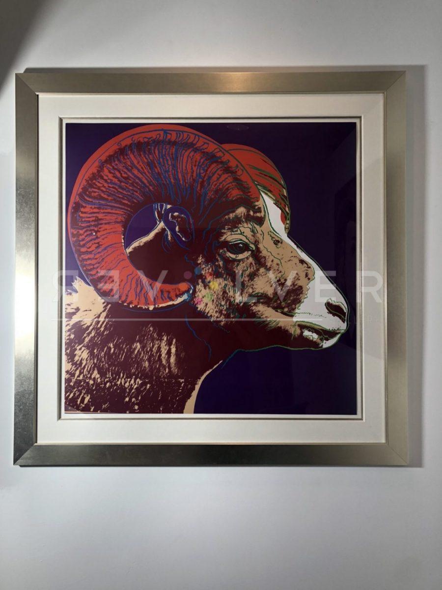 Andy Warhol - Bighorn Ram F.S. II 302 TP framed jpg