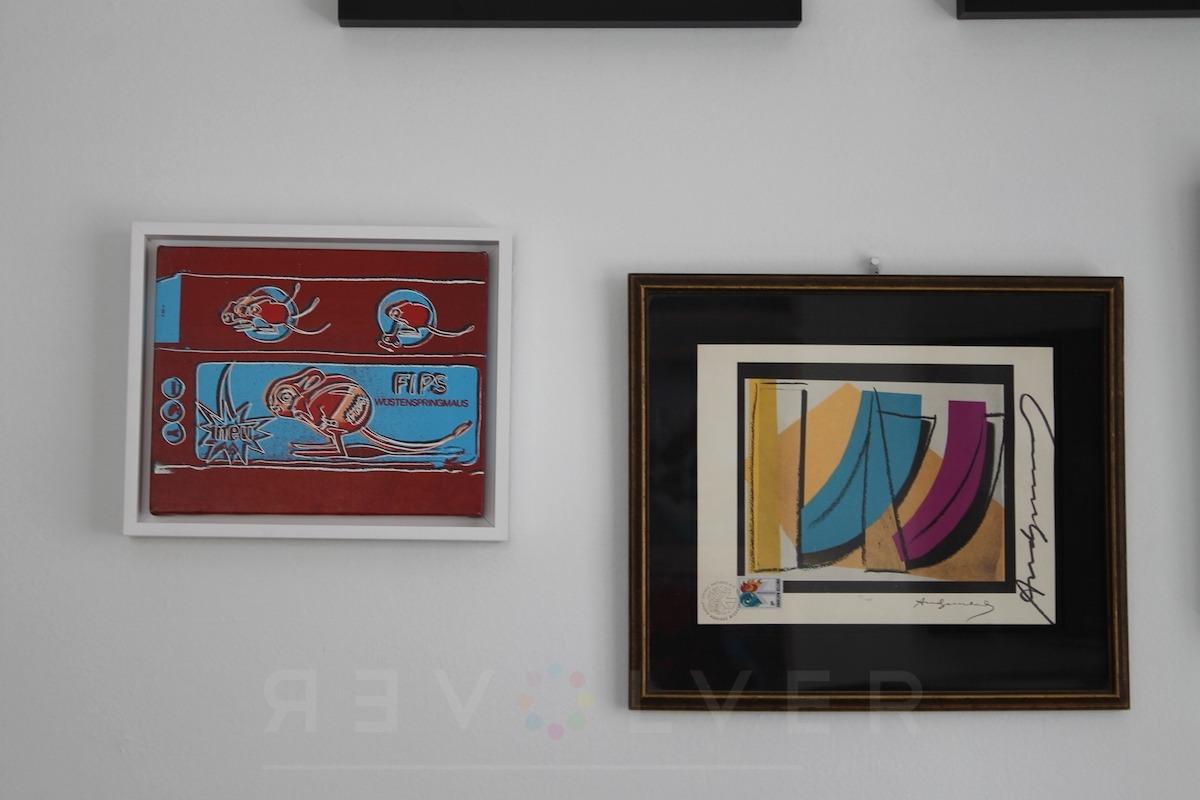 Andy Warhol - UN Stamp F.S. II 185 frame jpg